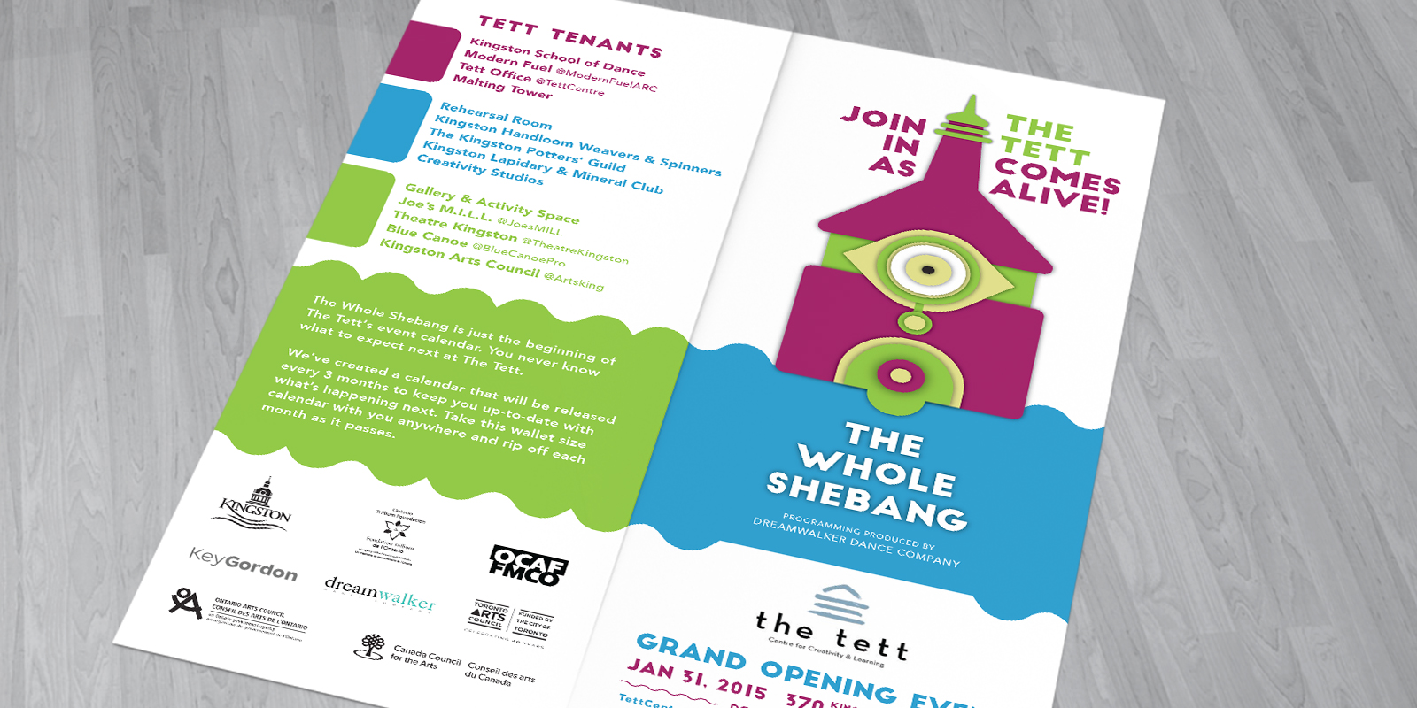 Tett Brochure-Front/back