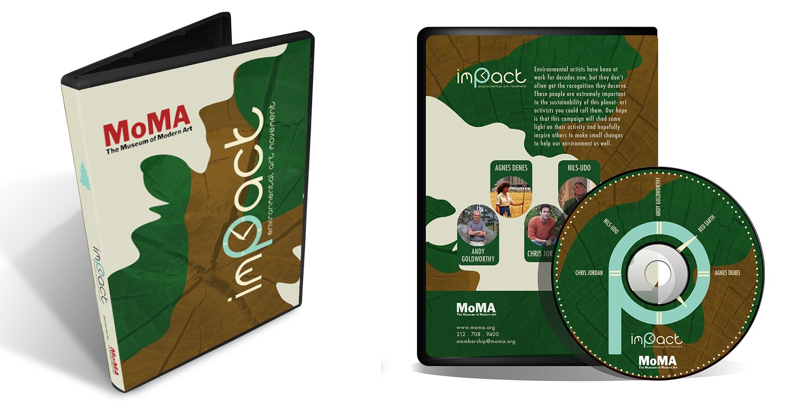 Impact DVD design
