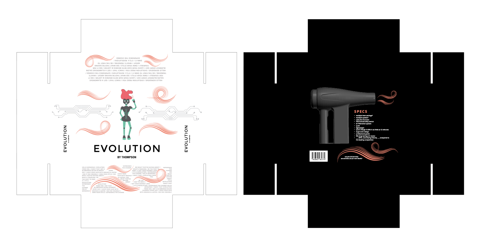 Evolution box design