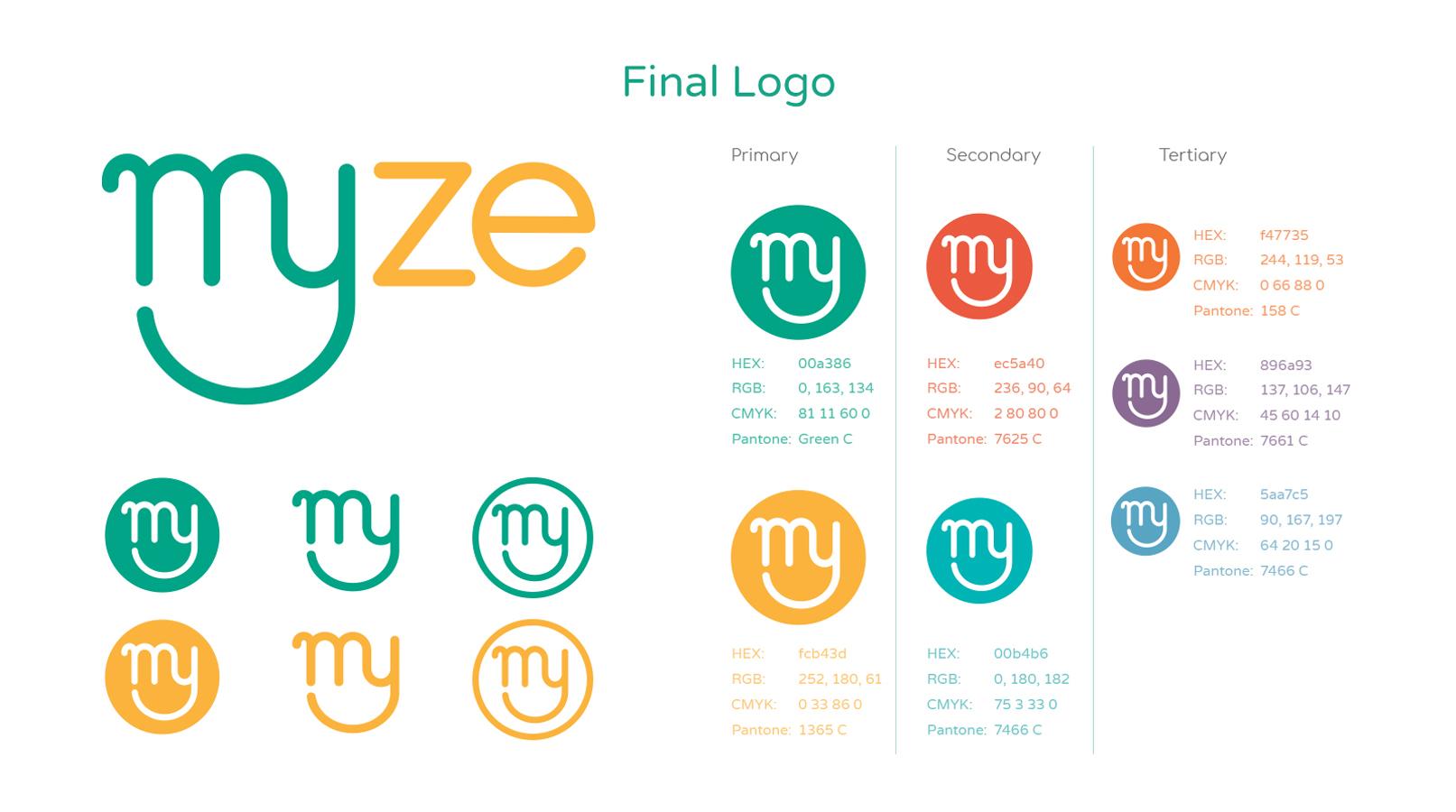 Myze brand elements