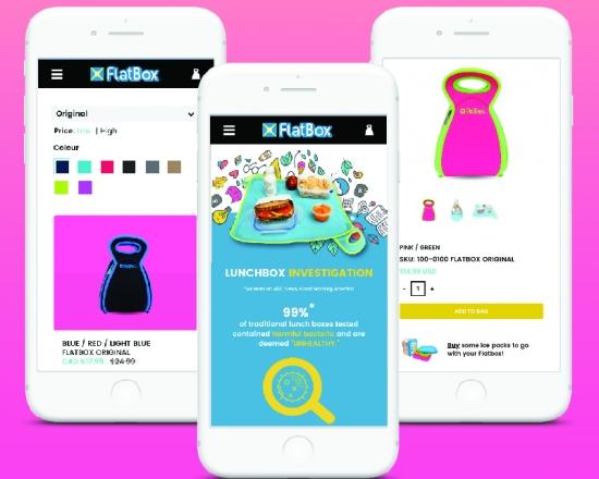 Flatbox Website